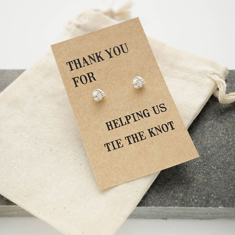Thanks for helping us tie the knot