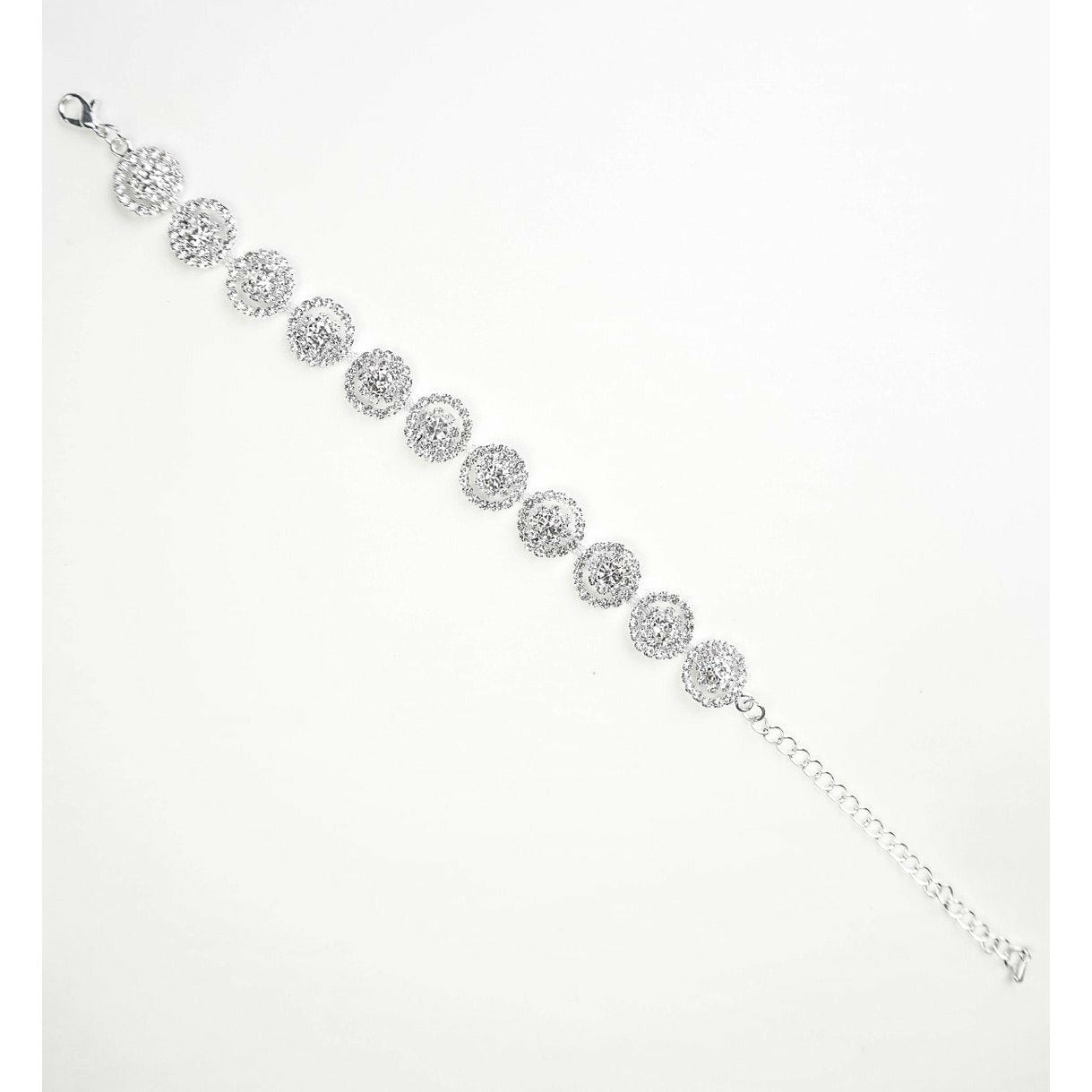 Diamanté Bridal Bracelet Accessory Elegance of Elena