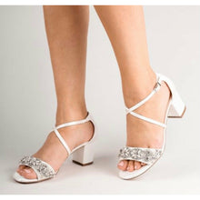 Load image into Gallery viewer, The Evangeline Bridal Shoes - Elegance of Elena