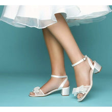 Load image into Gallery viewer, Bridal Shoes The Chloe Bridal Shoes Elegance of Elena