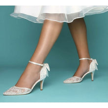Load image into Gallery viewer, The Florence Bridal Shoes Elegance of Elena