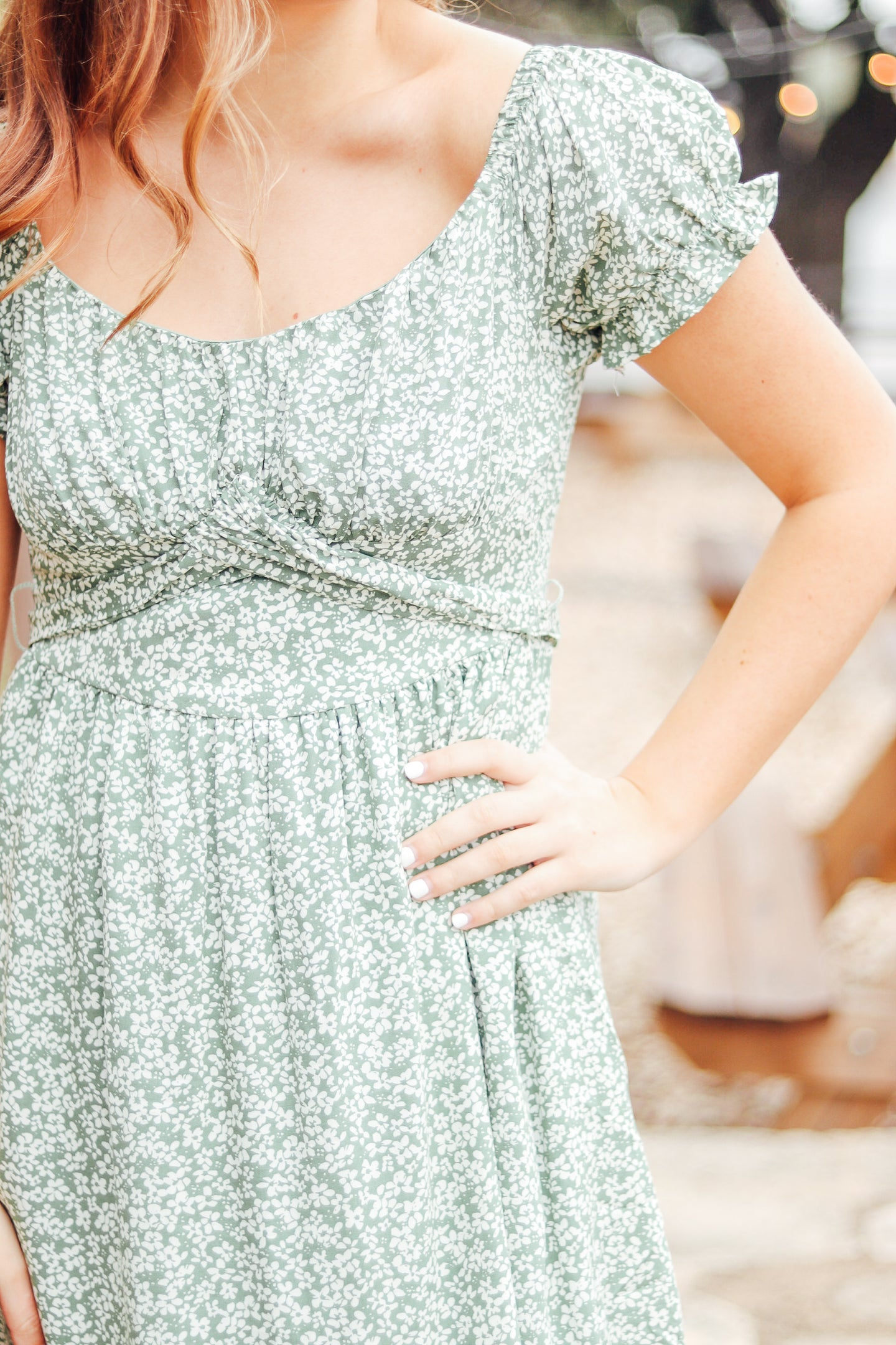The Taryn Sage Dress