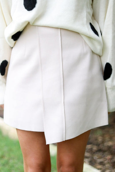 Katie Cream Skirt