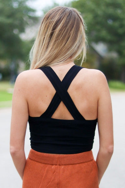 The Everything Cross Back Top