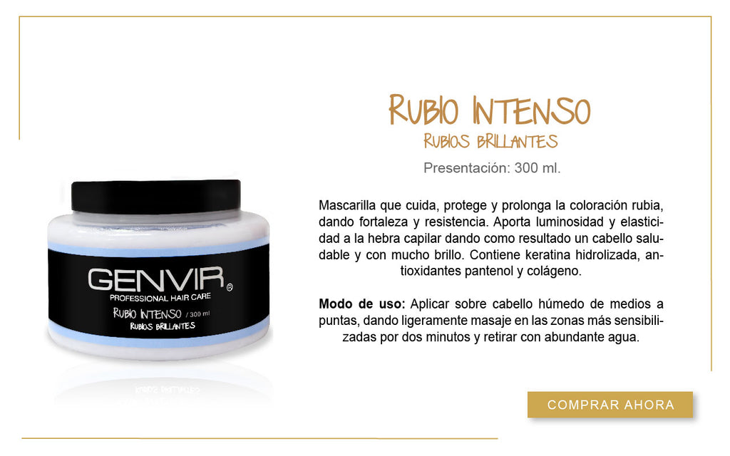 Rubio Intenso 300ml.