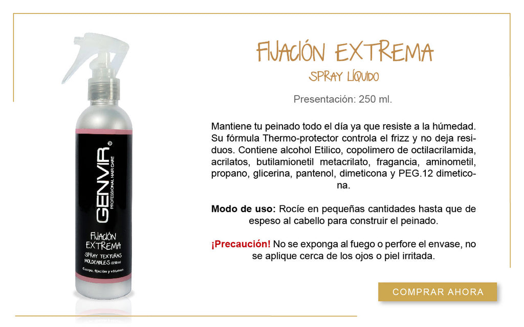 Fijación Extrema Spray Liquido 250ml.
