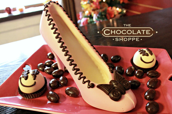 Chocolate High Heel Shoe