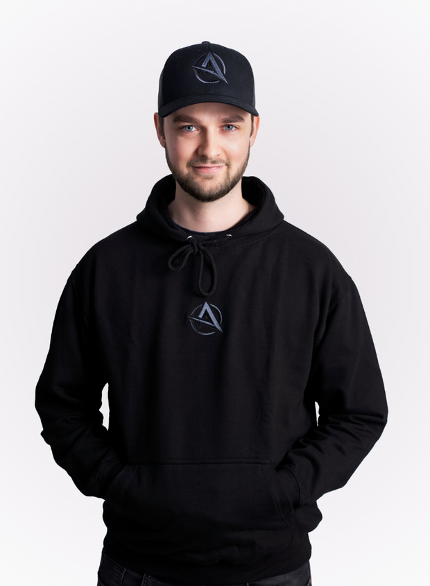 ALI-A BLACK ON BLACK HOODIE - KIDS