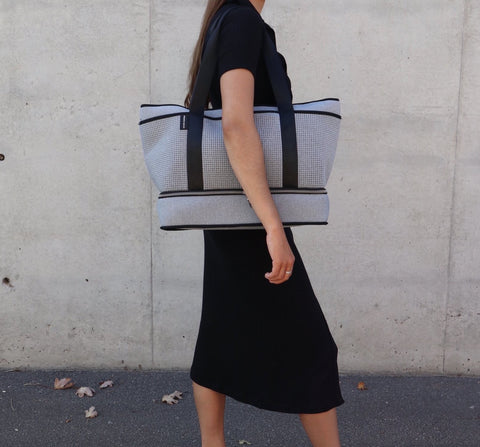 Prene The Sunday Bag - Light Grey Marle