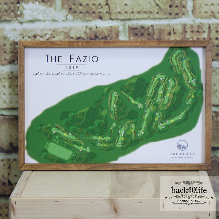 Farmhouse Frame - The Fazio