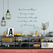 Be Strong & Courageous - Joshua 1:9 Vinyl Wall Decal (B-038)