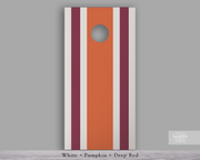 Handcrafted Cornhole Set - Simple Stripes (CH-001m)
