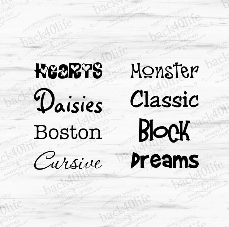 Child's Name Vinyl Door Decal (K-004)