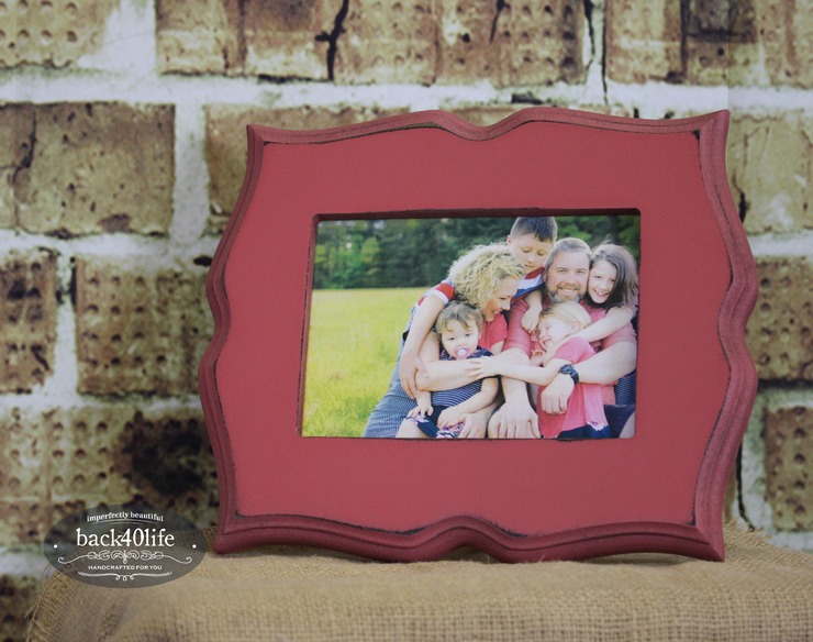 Whimsical Picture Frame - The Cameron (S-036)