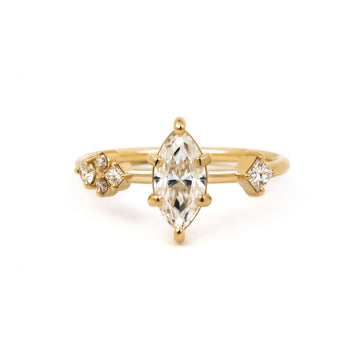 Harper Ring in 14 karat yellow gold.