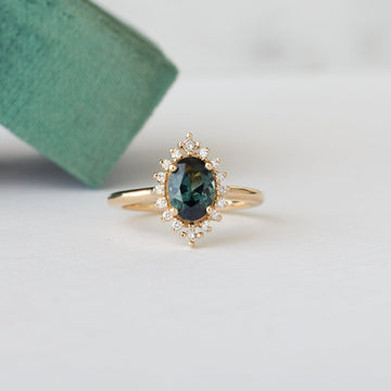 Eloise Ring - 1.14ct. oval sapphire