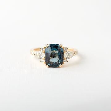 Rosalind Ring - 2.50ct Blue Spinel