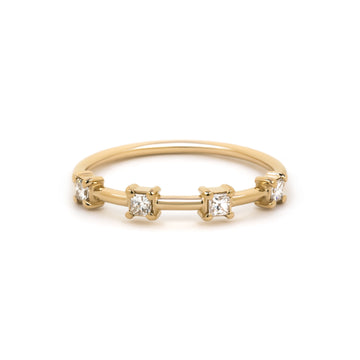 Noelle Ring in 14 karat yellow gold.