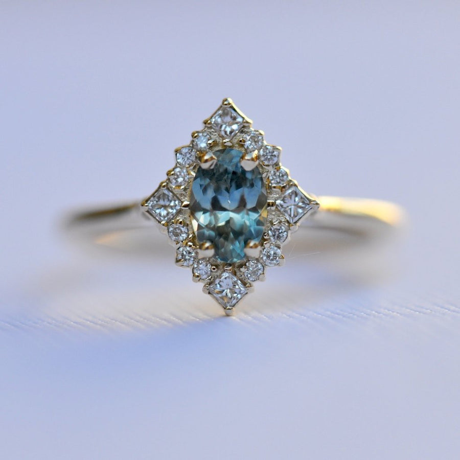 Sapphire Mirabelle Ring