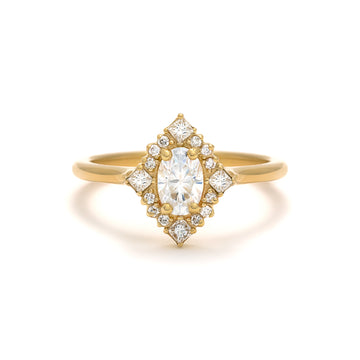 The Mirabelle is a petite version of our bestseller, the Marie Ring.