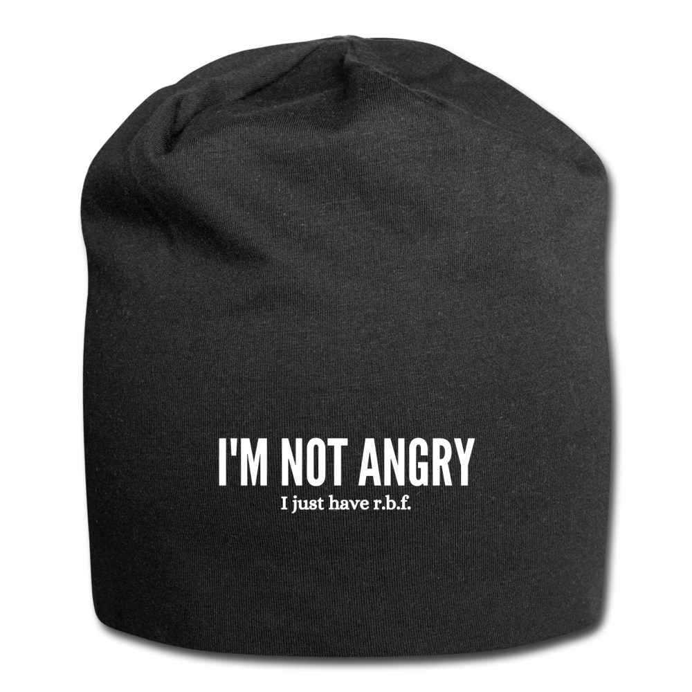 I'm Not Angry, I Just Have RBF Beanie - black