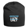 Hibernating, Not Lazy Beanie - black