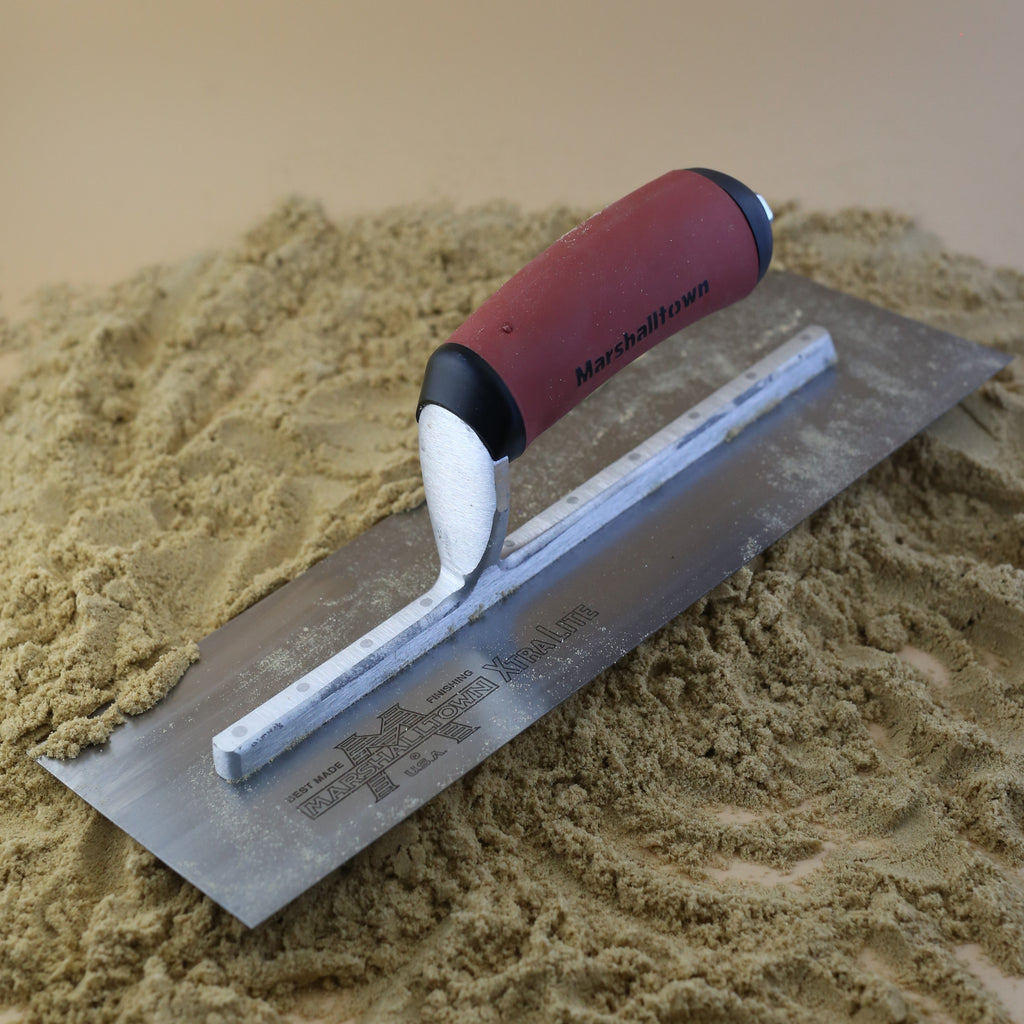 "The Marshalltown 12"" X 4"" Finishing Trowel"