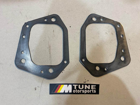 BMW E46 Rear Trailing Arm Reinforcement Plates