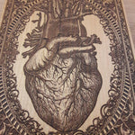 Load image into Gallery viewer, Heart Woodcut