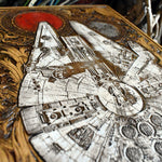 Load image into Gallery viewer, Star Wars Millennium Falcon Hand Painted