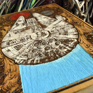 Star Wars Millennium Falcon Hand Painted