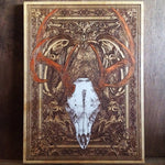 Load image into Gallery viewer, Deer Skull - Rustic Wood Wall Art Decor