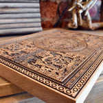 Load image into Gallery viewer, Aztec Calendar Carved Art