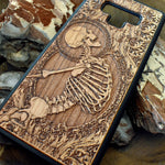 Load image into Gallery viewer, Goth Wood iPhone Covers