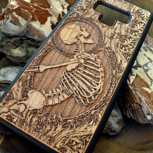 Goth Wood iPhone Covers
