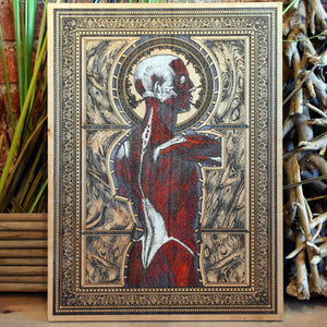 Trapped Anatomical Art