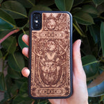 Load image into Gallery viewer, iphone x wood PHONE case