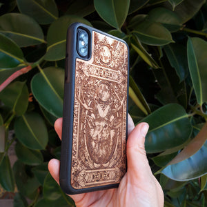 GRIPPY iphone xr wood case