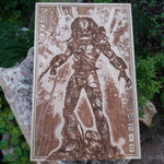 Load image into Gallery viewer, Predator Poster Natural Wood