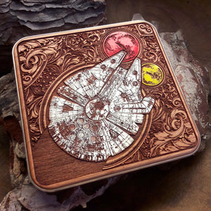 Star Wars Wireless Charger Hand Painted