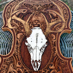 Load image into Gallery viewer, Deer Skull Wood Violin