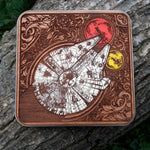 Load image into Gallery viewer, Star Wars Wireless Charger Hand Painted