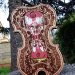 Load image into Gallery viewer, Tempus Edax Rerum Wood Violin