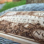 Load image into Gallery viewer, Ouija Board Wood Art