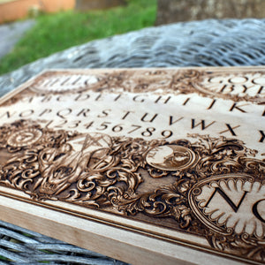 Ouija Board Wood Art