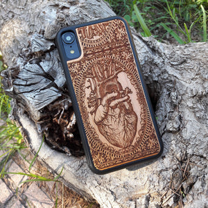 wood iphone xs max case