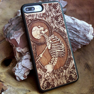 Goth Wood iPhone Cases