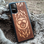 Load image into Gallery viewer, Wheel of Time Wood Phone Case