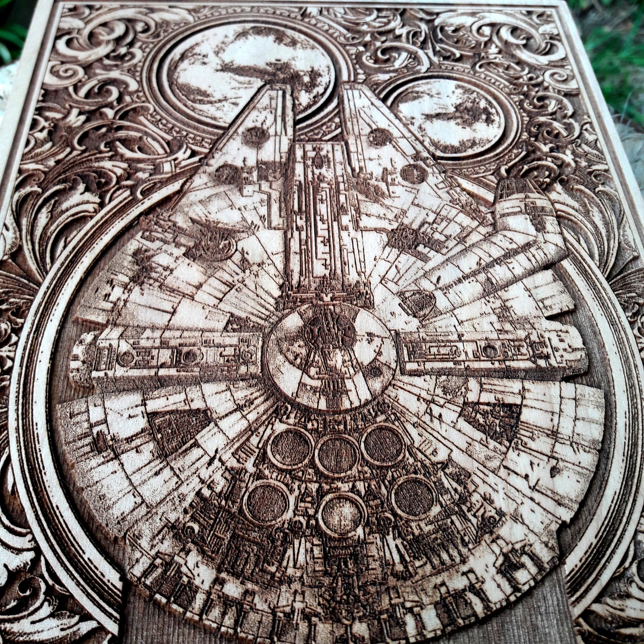 Star Wars Millennium Falcon Artwork