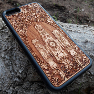 genuine wood phone cases